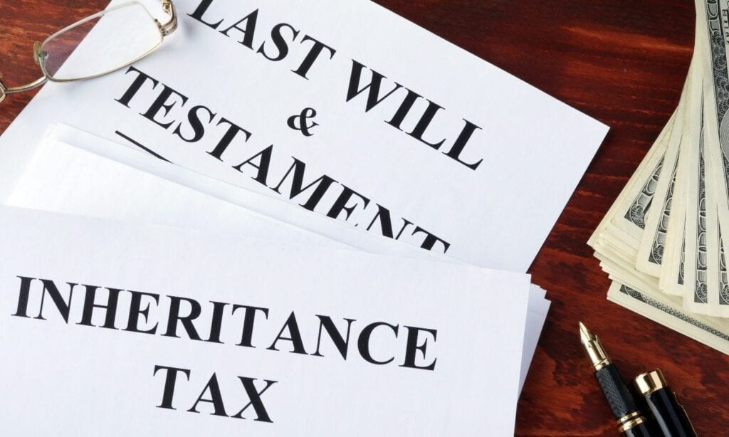 Inheritance & Testament and taxes